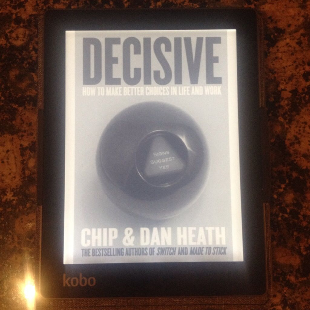 Book Review Decisive (With images) Make good choices
