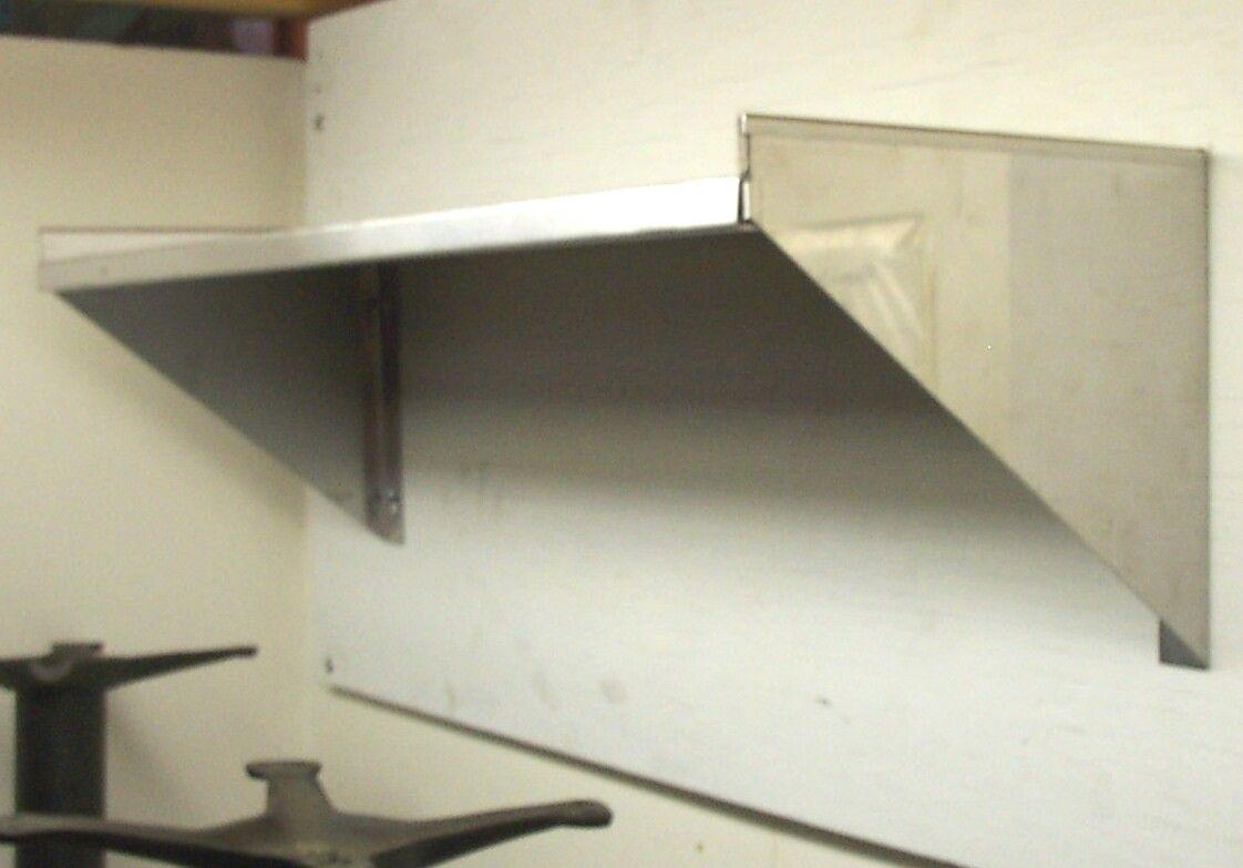 Stainless Steel Commercial Restaurant Wall Shelves Shelves Wall