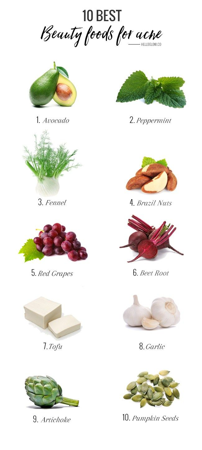 10 Best Beauty Foods For Acne Homeopathic Food For Acne Skin