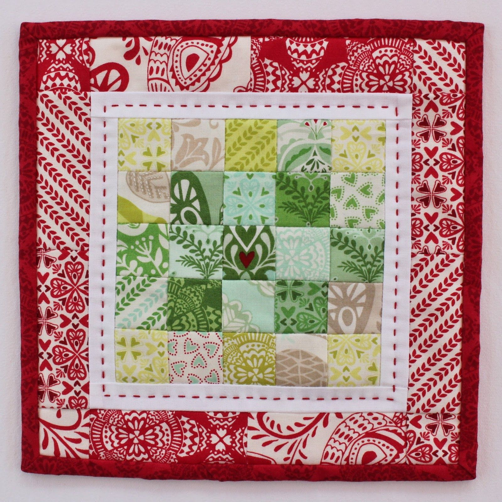 North Woods mini Christmas quilt by Jen Daly Quilts. | Christmas ... : northwoods quilt - Adamdwight.com