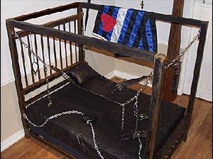 another dungeon bed | 35+ best bondage furniture | pinterest