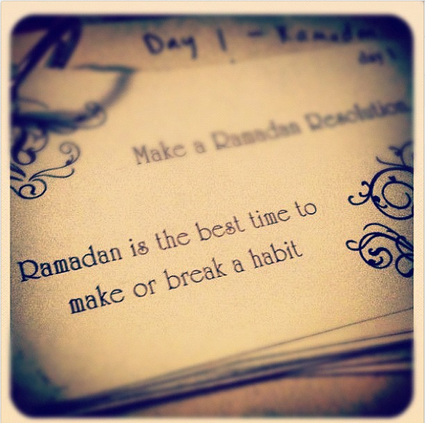 [Ramadan Series] Changing Habits in Ramadan  http://www.productivemuslim.com/ramadan-series-changing-habits-in-ramadan/