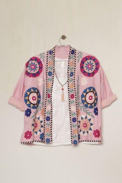 4fbfa5208 Sacos y chaquetas del Rapsodia-verano 2016. Blusas o camisas de la ...