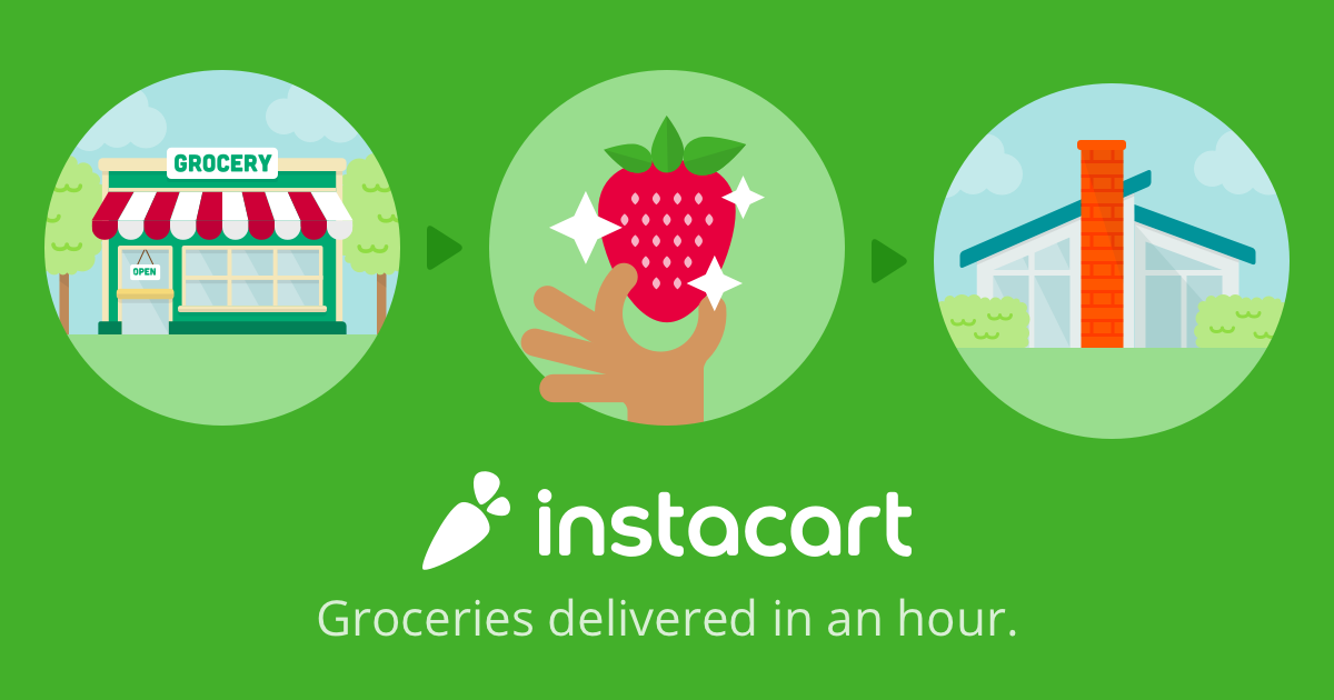Instacart Delivers Within The Hour Our Online Marketing Agency In Los Angeles Loves The Idea That Costco Has Instacart Delivery Groceries Delivering Groceries