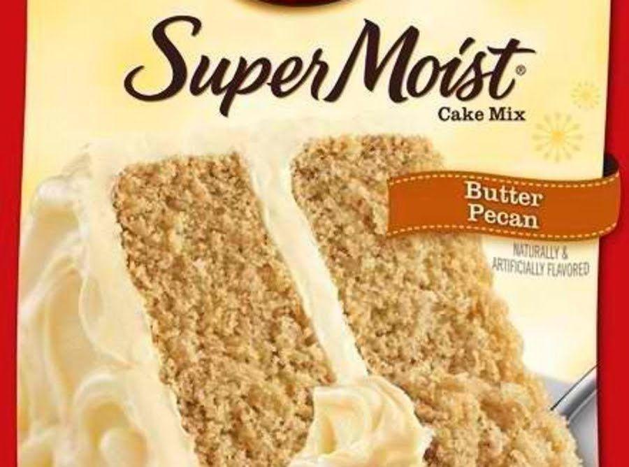 betty crocker butter pecan cake mix recipes