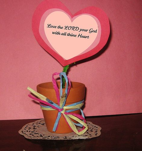 valentine's day craft for sunday school | sunday school, pre, Ideas