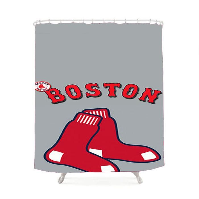 Boston Red Sox Shower Curtain