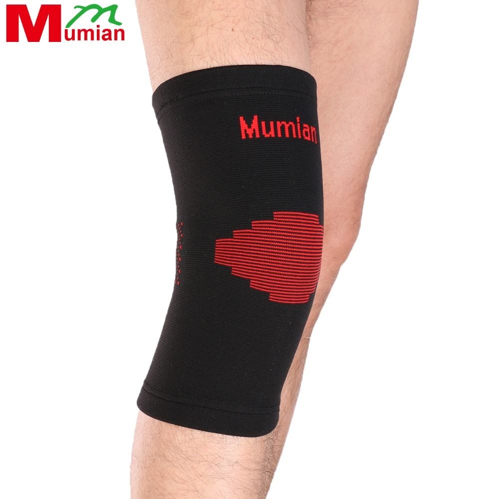 6 3 Watch Now 2pcs Elastic Sports Leg Knee Support Brace Wrap Protector Knee Pads Sleeve Cap Patella Guard Volleyball Fitness Knee Black Red Magazineonl