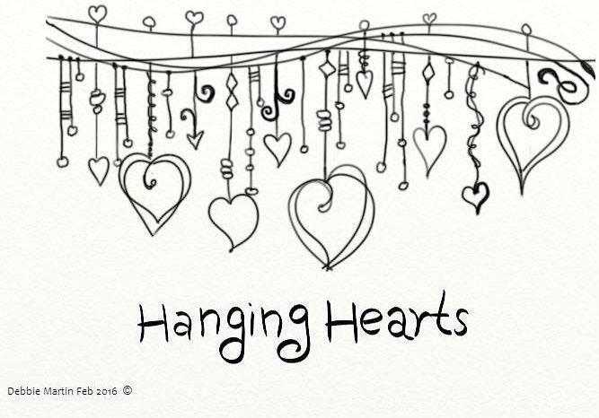 Wacom Doodle for Hanging Hearts Challenge #dndchallenge #