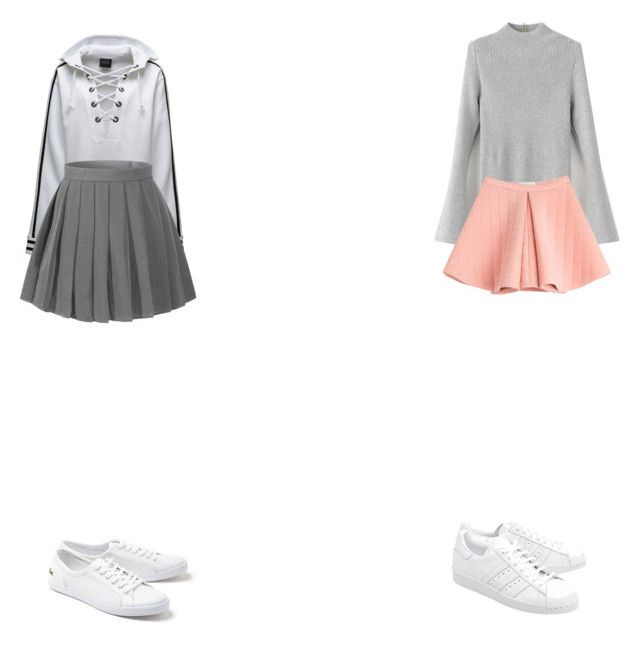 """""""Untitled #489"""" by annawola ❤ liked on Polyvore featuring Puma, Marina Hoermanseder, Lacoste and adidas Originals"""