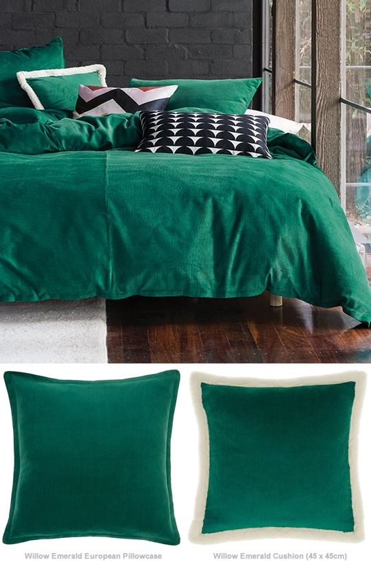 Willow Emerald By Linen House Quilt Cover Quilt Cover