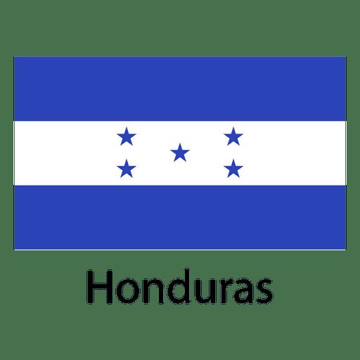 Honduras National Flag Ad Affiliate Paid Flag National Honduras National Flag National Layout Template