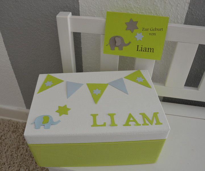 Kisten boxen erinnerungskiste ein designerst ck von memoriesinlove bei dawanda deko - Kisten kinderzimmer ...