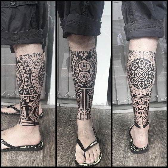 120 Tatuajes Tribales Para Hombres Con Significados Y Consejos Belagoria La Web De Los Tatuajes Tatuaje Maori Tatuajes Maori Pierna Tatuaje Polinesio