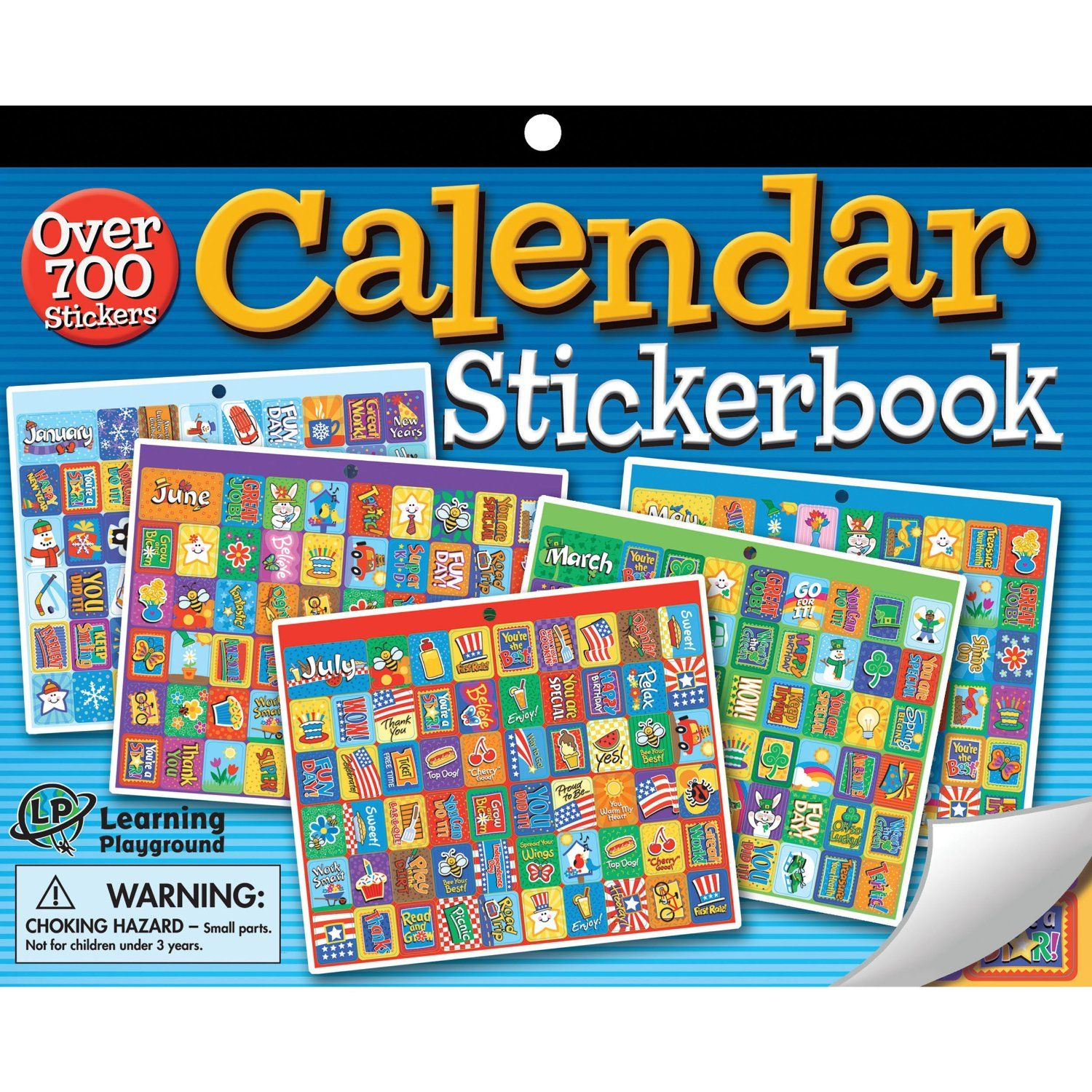 Children S Calendar With Stickers : Calendar stickerbook stickers pinterest