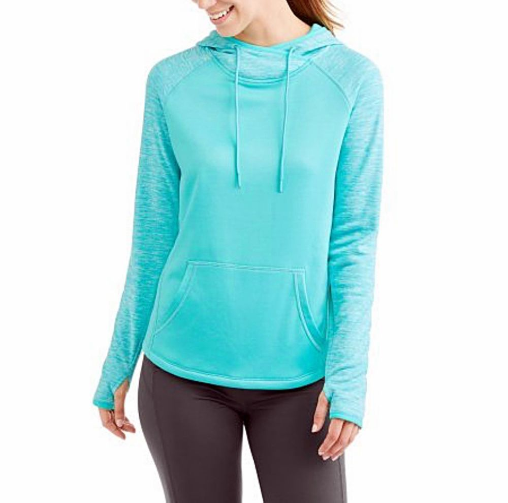 Athletic Works Women S Tech Fleece Pullover Hoodie Sweatshirt Aqua L Xxl Nwt Athleticworks Tech Fleece Hoodie Women Hoodies Sweatshirts Sweatshirts Hoodie [ 989 x 1000 Pixel ]