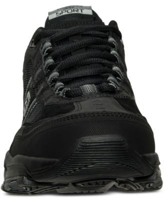 7f23f77d061ec Skechers Men's Vigor 2.0 - Trait Wide Width Training Sneakers from Finish  Line - Black 9W