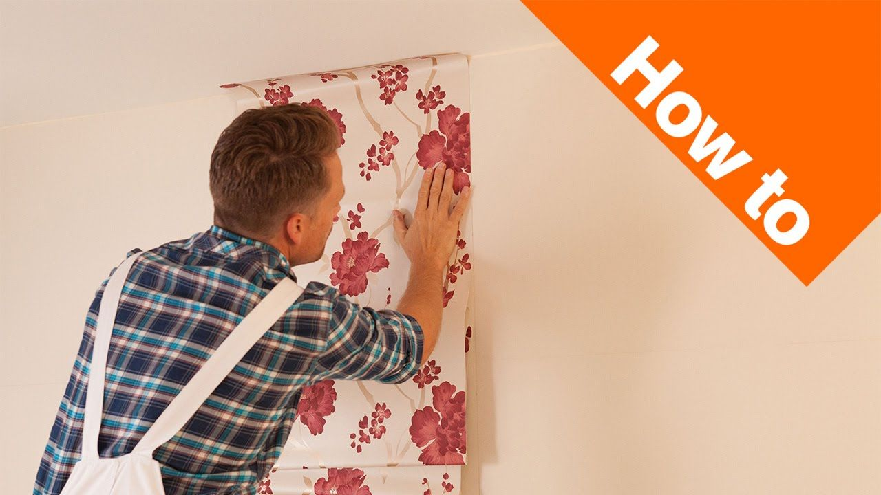 How To Hang Wallpaper Part 2 Hanging How To Hang Wallpaper Hanging How To Install Wallpaper