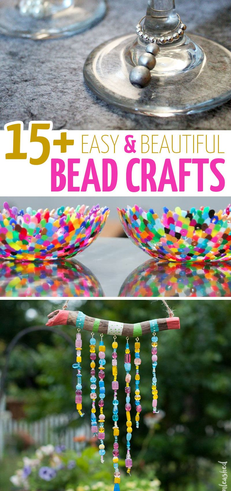 17 Stash Busting Bead Crafts Bead Crafts Diy Arts And Crafts For Kids Arts And Crafts For Teens