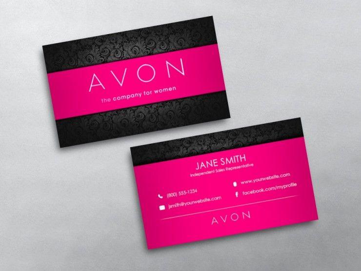 Avon Business Card 10 Marketing Business Card Network Marketing Business Card Free Business Cards