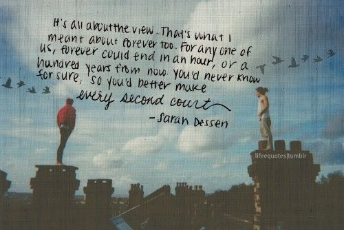 The Truth About Forever Sarah Dessen 3 Quote Quotes Book