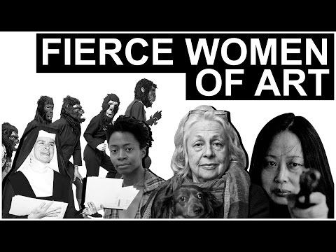 Fierce Women of Art   The Art Assignment   PBS Digital Studios - YouTube