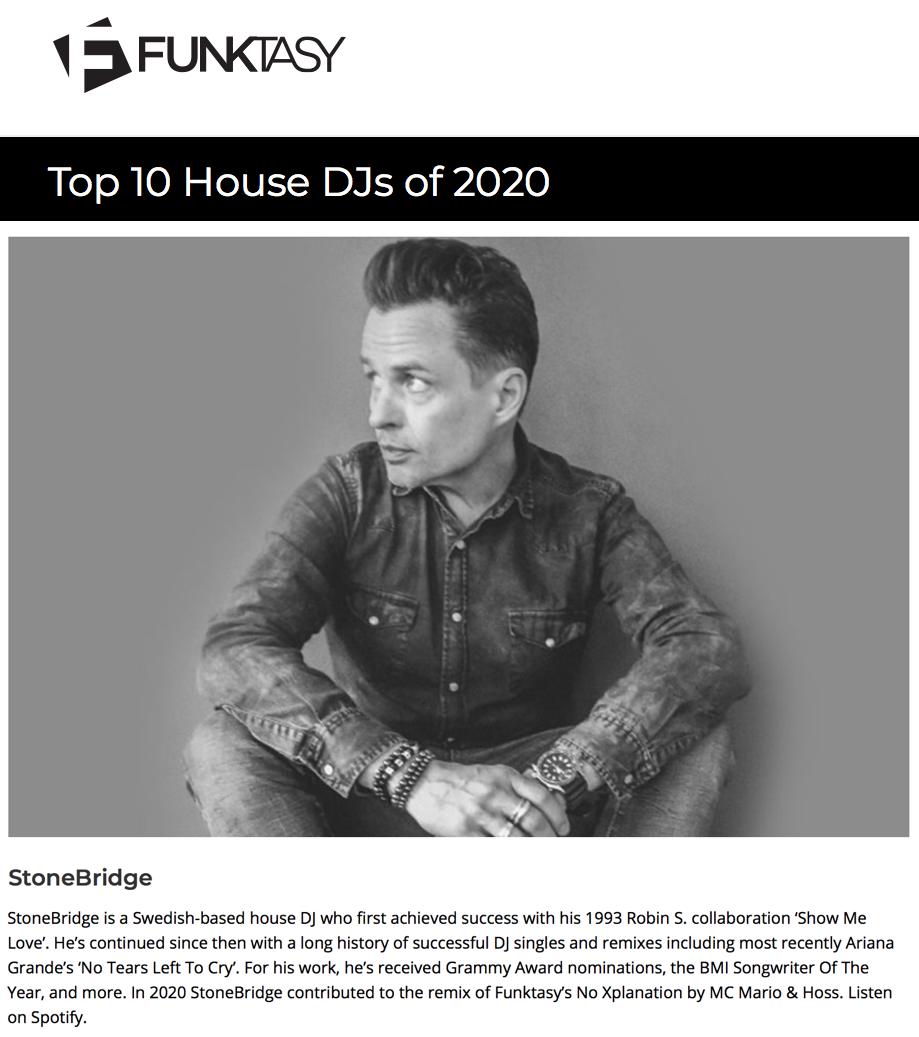 Funktasy House DJ Top 10 2020 in 2020 Djs, Dj, My love