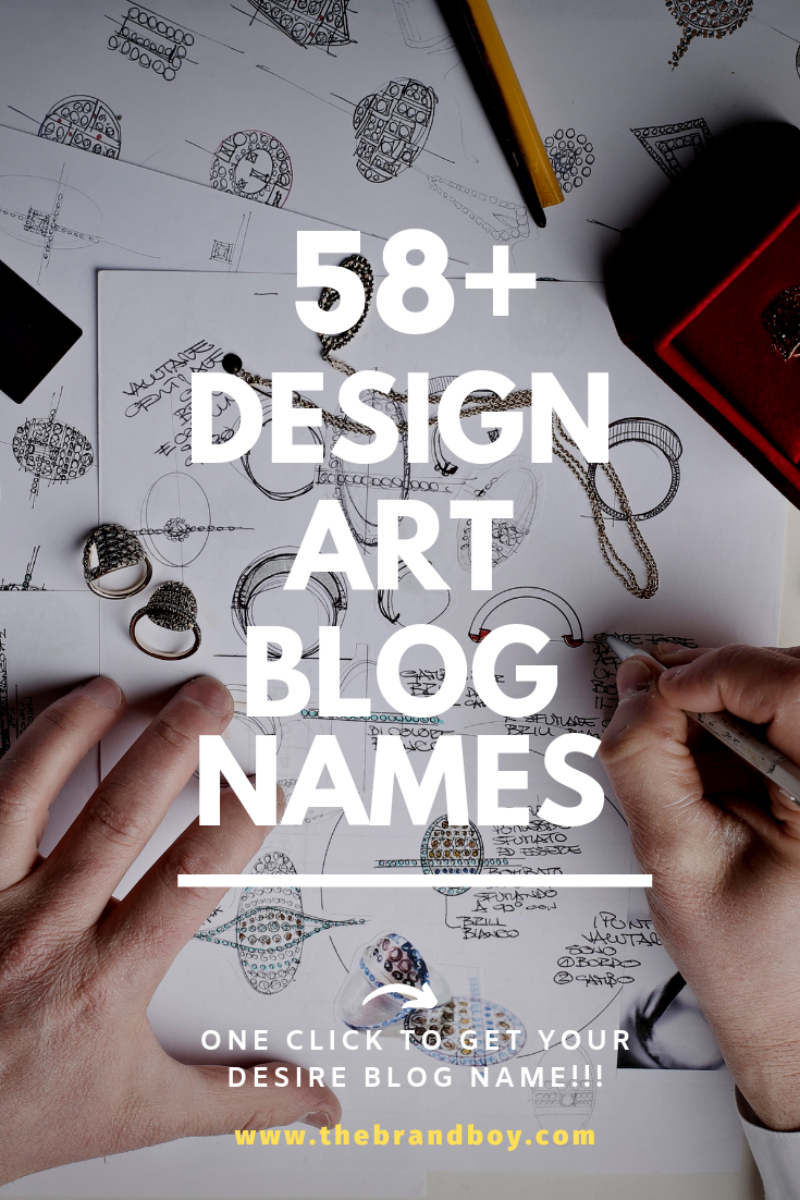 Very Best and Catchy Design blog names | Blog names ideas ...