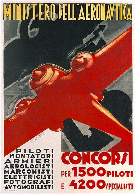 Ministero Dell Aeronautica Original Vintage Poster Manifesti Originali D Epoca Www Posterimage It Vecchie Pubblicita Manifesto Pubblicitario Poster