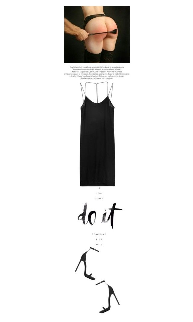 """""""do it. good."""" by rosa-loves-skittles ❤ liked on Polyvore featuring Dion Lee, Yves Saint Laurent, women's clothing, women, female, woman, misses, juniors and Sexy"""