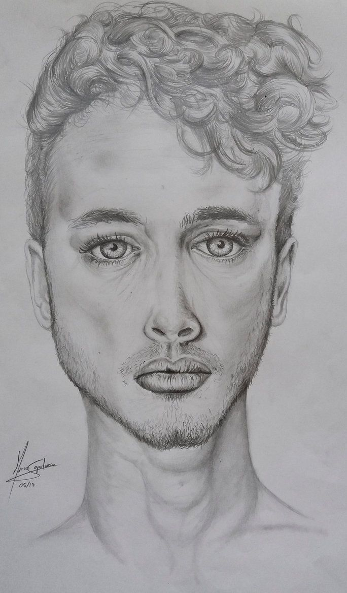 Easy drawings of people faces 2017