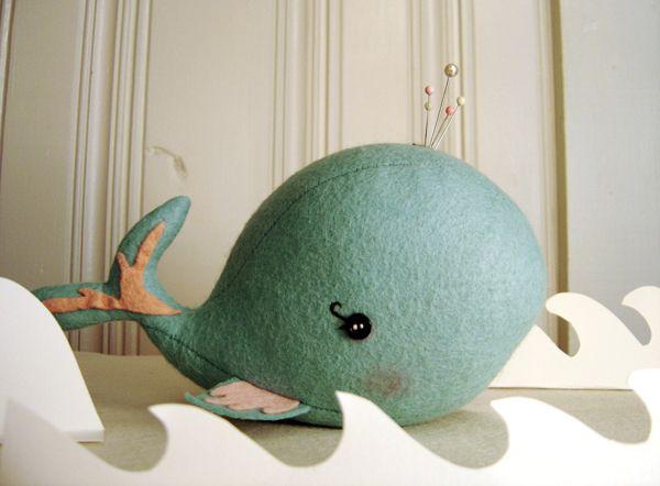 Whale Pin Cushion