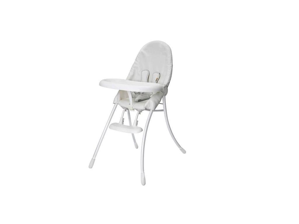 Bloom nano easy storage high chair white baby u toddler