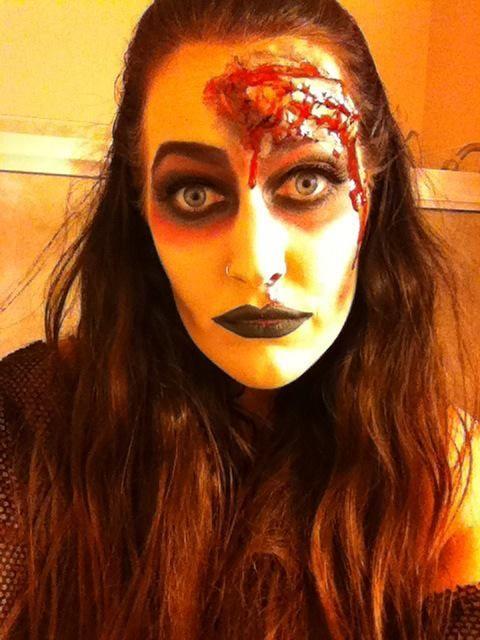 Halloween Makeupblood And Gore Makeup Inspirationideas - Gore-makeup