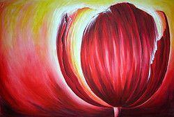 De Kleur Rood : In dit schilderij is duidelijk expressief kleurgebruik te zien