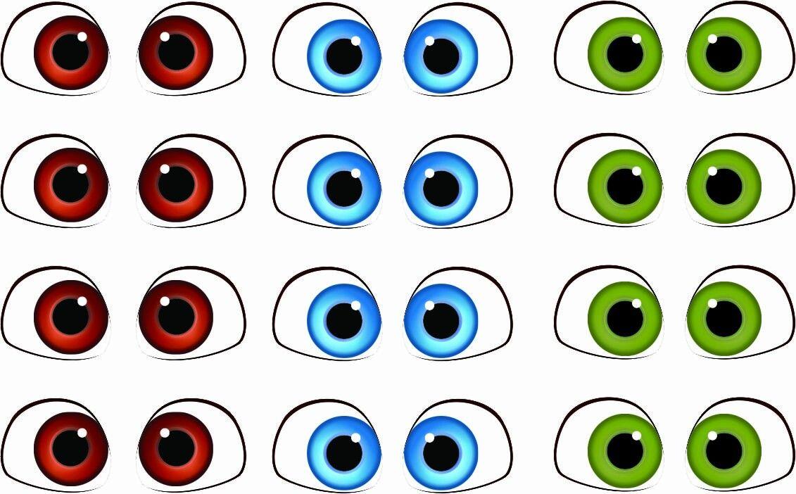 Картинки глаза для детей в детском саду