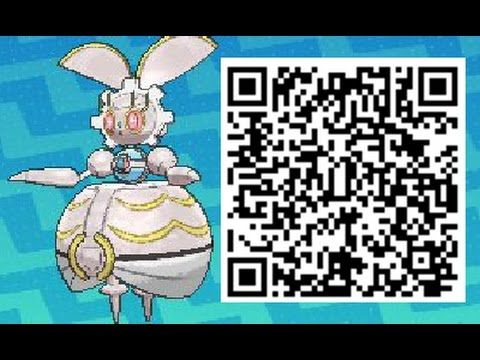 How To Obtain Magearna Qr Code Event Pokemon Sun And Moon