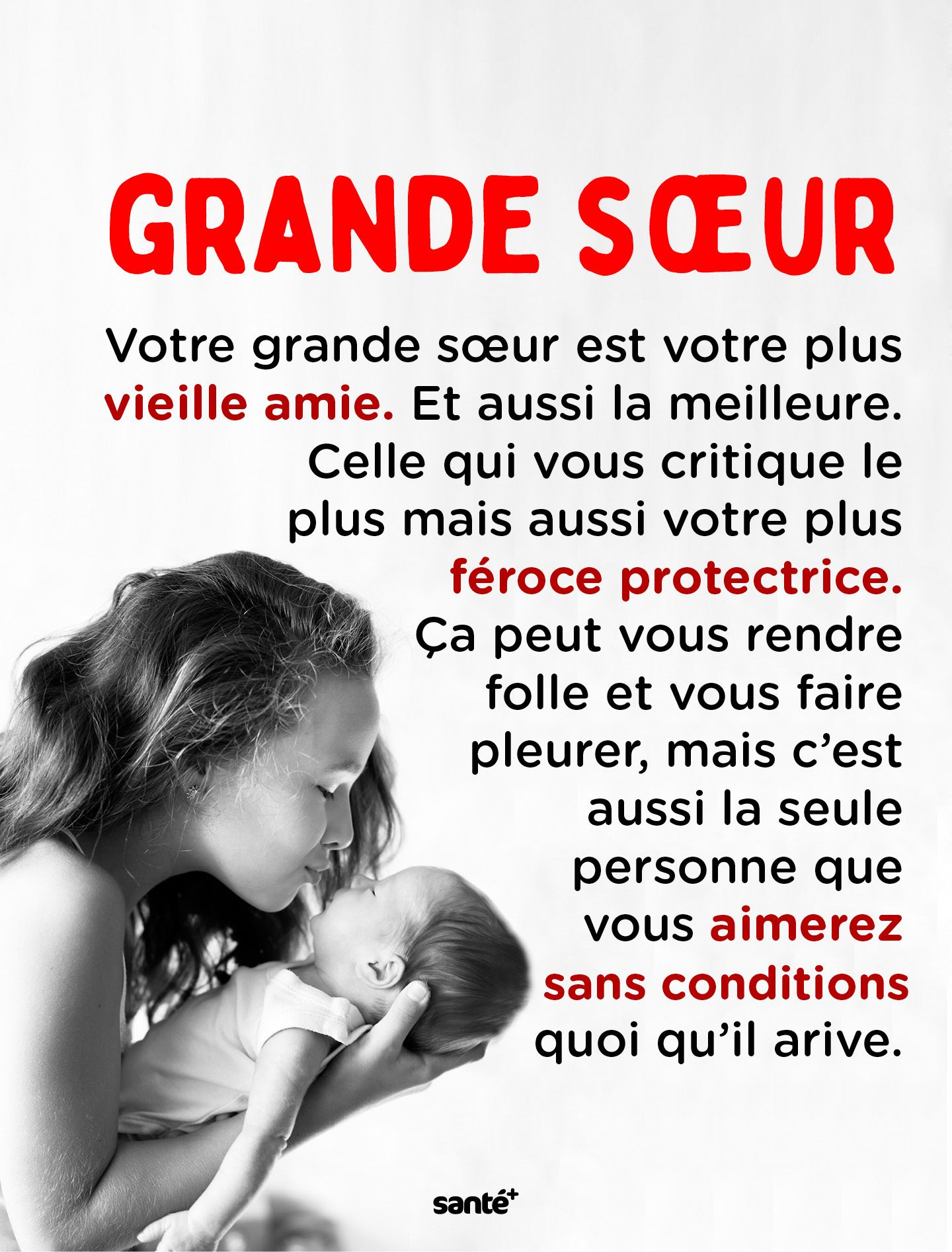 Grande Soeur Soeurs Citation Citation Et Phrase Citation