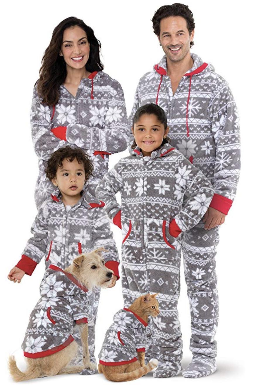 Matching Dog And Owner Pajamas To Snug