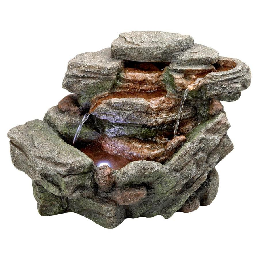 Design Toscano Waterfall Creek Fountain At Lowes Com With Images