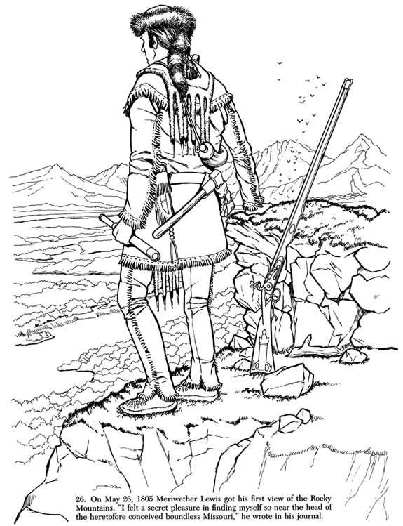 Welcome To Dover Publications Lewis And Clark Coloring Pages Shark Coloring Pages