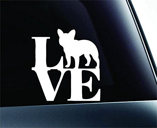 LOVE French Bulldog Dog Symbol Decal Funny Car Truck Sticker Window (White) ExpressDecor http://www.amazon.com/dp/B00RW5K37Q/ref=cm_sw_r_pi_dp_kyfRub1Y6HN73