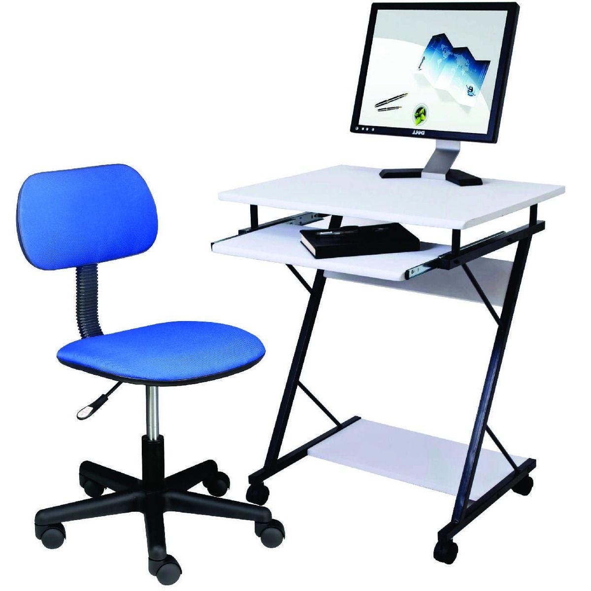 combo oferta escritorio mesa pc con silla oficina dormitorio ...