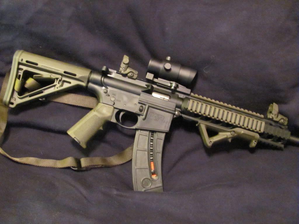 Smith Wesson M P 15 22 Armas De Fuego Fusiles Militar