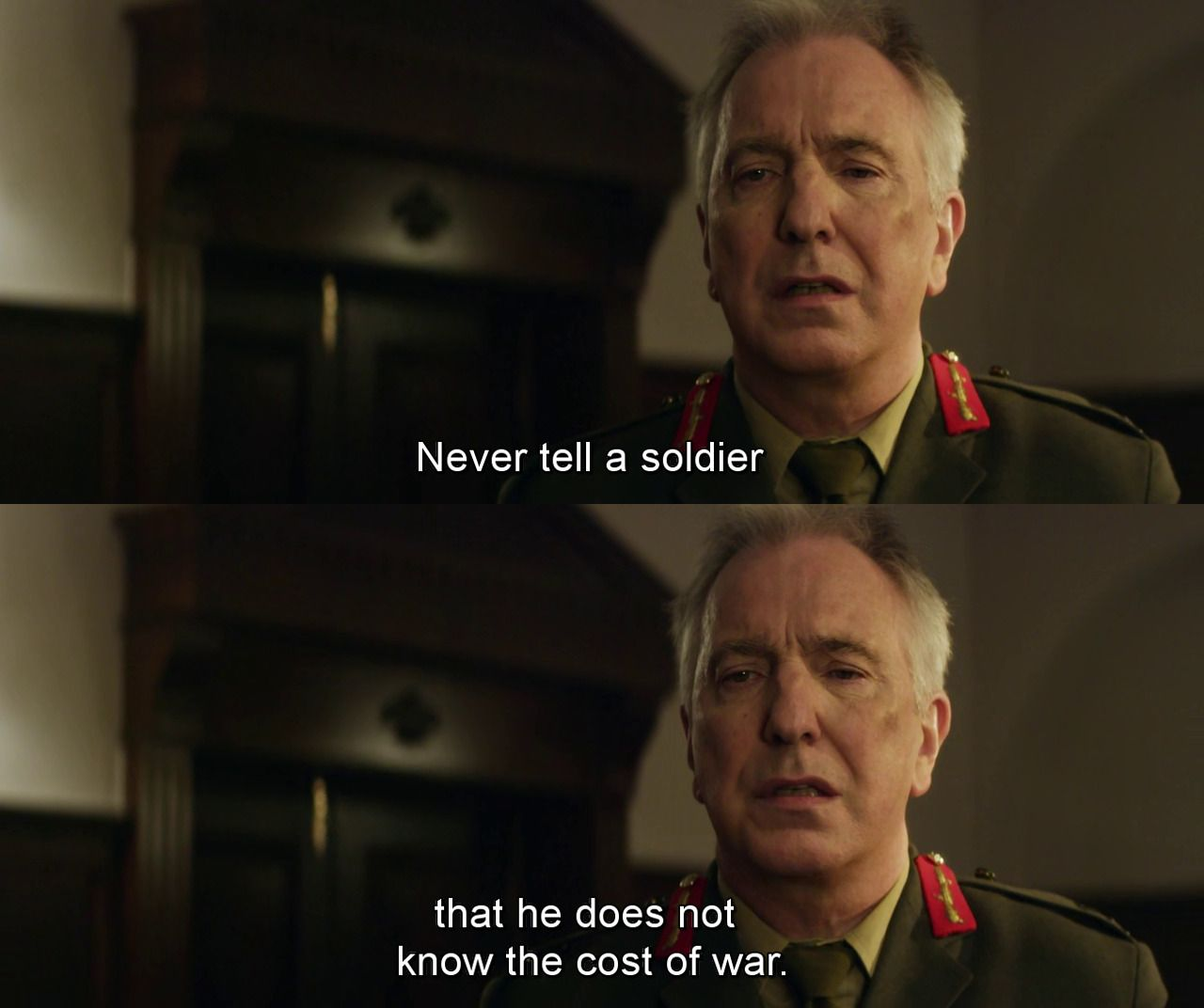 Eye In The Sky 2015 R I P Alan Rickman Good Movies Soldier Quotes Movies