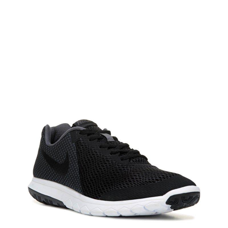 83aa6a29ff976 Nike Men s Flex Experience RN 6 X-Wide Running Shoes (Black Grey ...