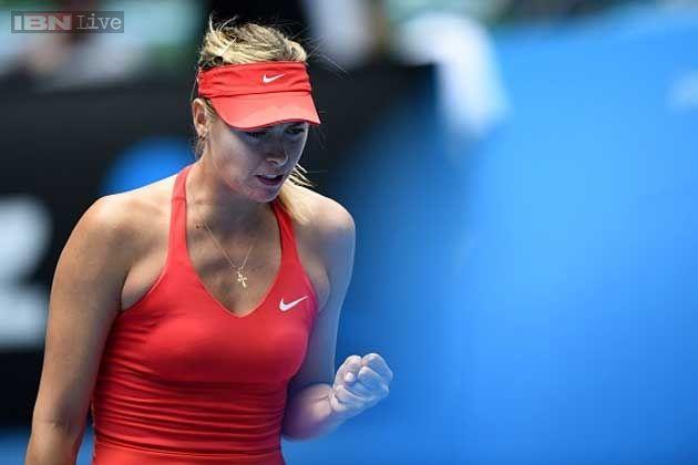 Maria Sharapova beats Peng in 4th round at Australian Open