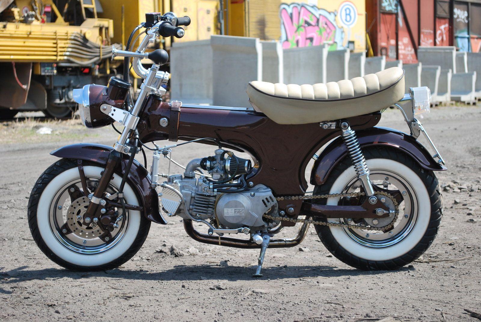 my honda dax vi by sen007 mini motos pinterest honda mopeds and mini bike. Black Bedroom Furniture Sets. Home Design Ideas