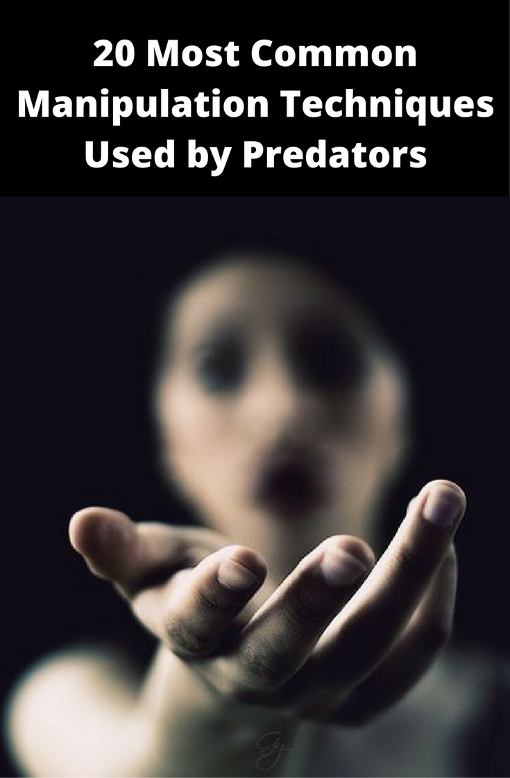 20 manipulation techniques used by predators on you