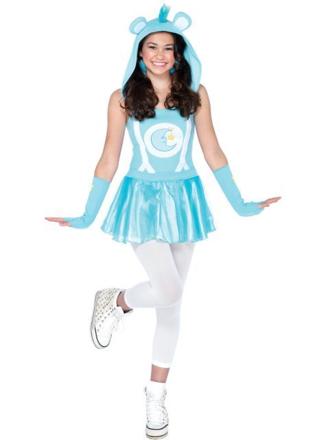 Teen Girls Bedtime Bear Costume - Care Bears - Party City ...